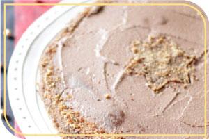 Gâteau Chocolat/Framboises Sans Gluten