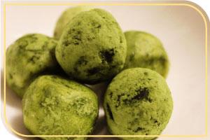 Truffes Thé Vert